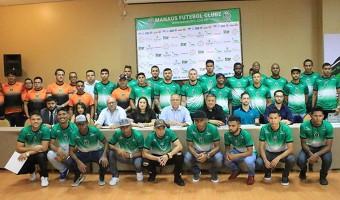 Manaus FC apresenta jogadores e metas para 2018