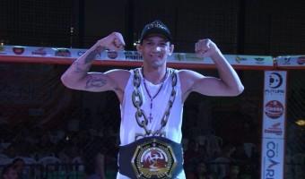 Atleta apoiado pelo Manaus FC luta pelo cinturão dos meio-médios do Legacy MMA, no México, nesta noite
