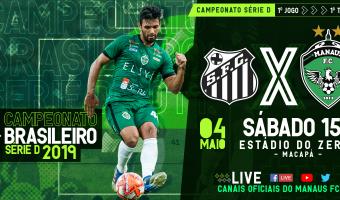 Estreia do Manaus FC terá transmissão pelos canais de comunicação do clube
