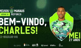 Manaus FC anuncia primeiro reforço para a Série D