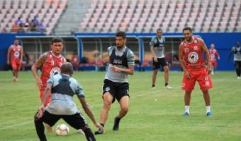 MANAUS FC vence o Betânia FC por 8 a 0 no último jogo-treino antes da estreia na Série C