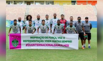 Manaus FC presta homenagem a todas as mulheres