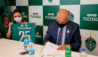 Golaço fora de campo: Manaus e Guaraná Tuchaua renovam 2022