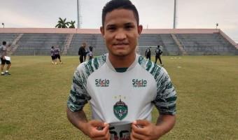 Manaus FC anuncia empréstimo do atacante Jack Chan