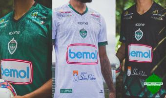 Manaus FC divulga oficialmente novo manto de 2021