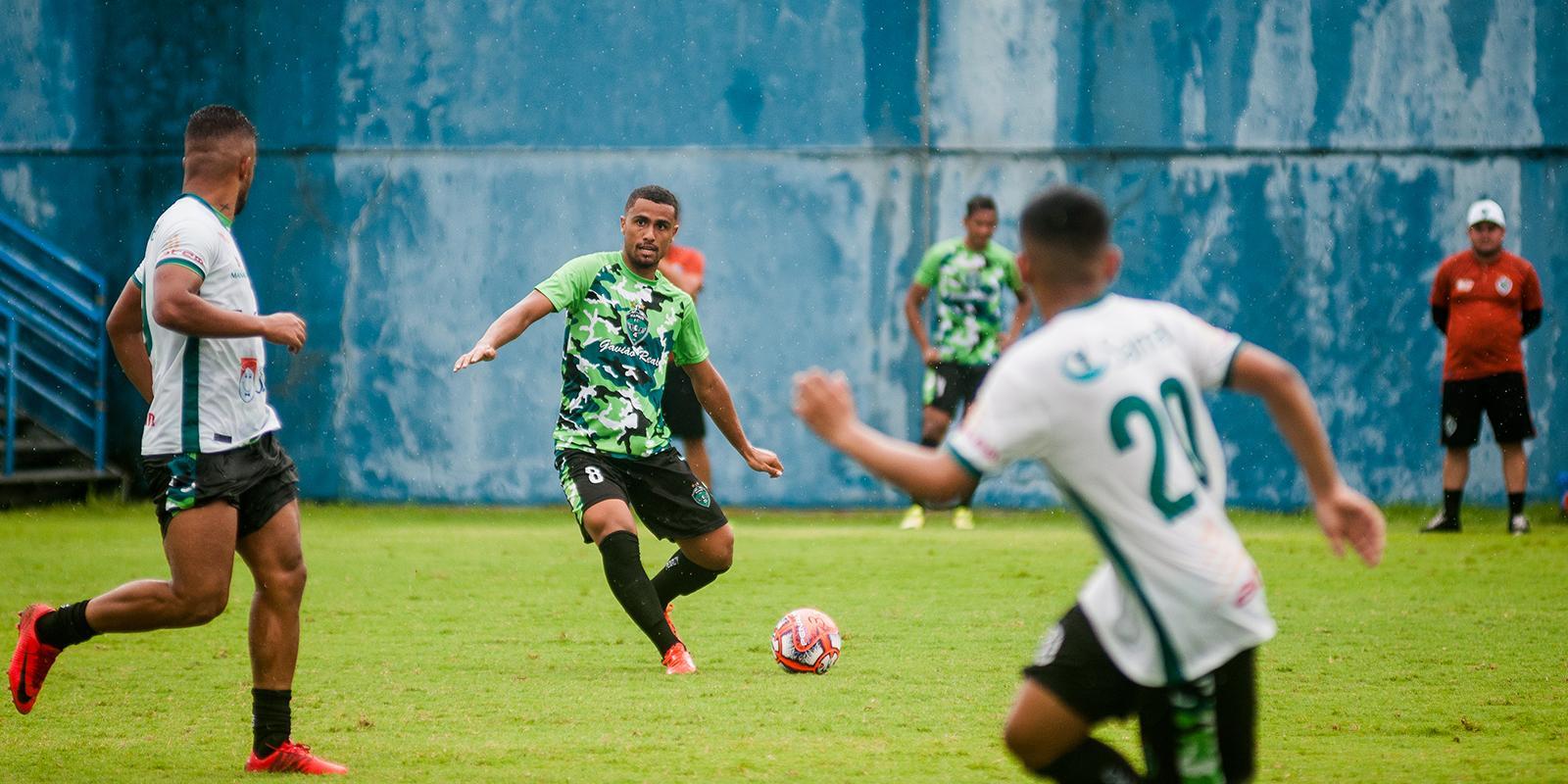 Volante Ezequiel é uma das apostas do Manaus FC para 2019