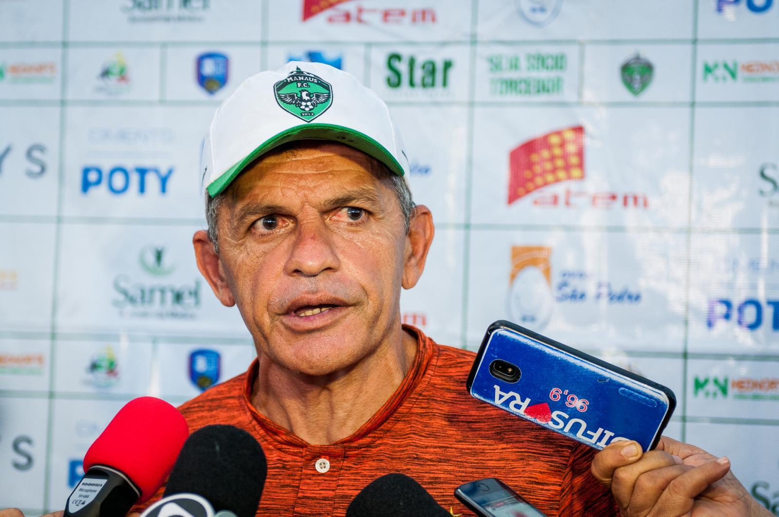 João Carlos Cavalo não é mais técnico do Manaus FC