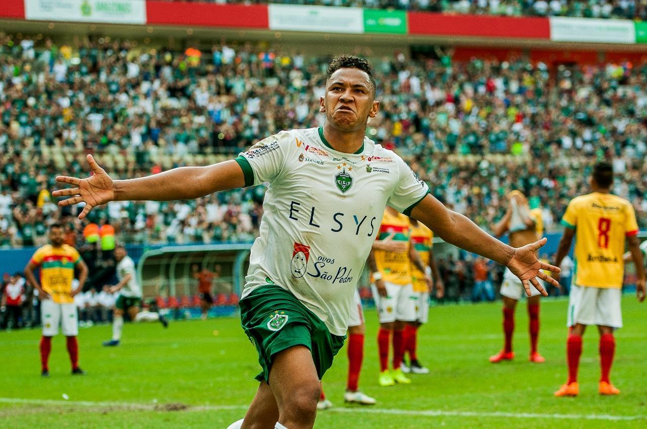 Manaus FC anuncia empréstimo do atacante Mateus Oliveira ao XV de Piracicaba