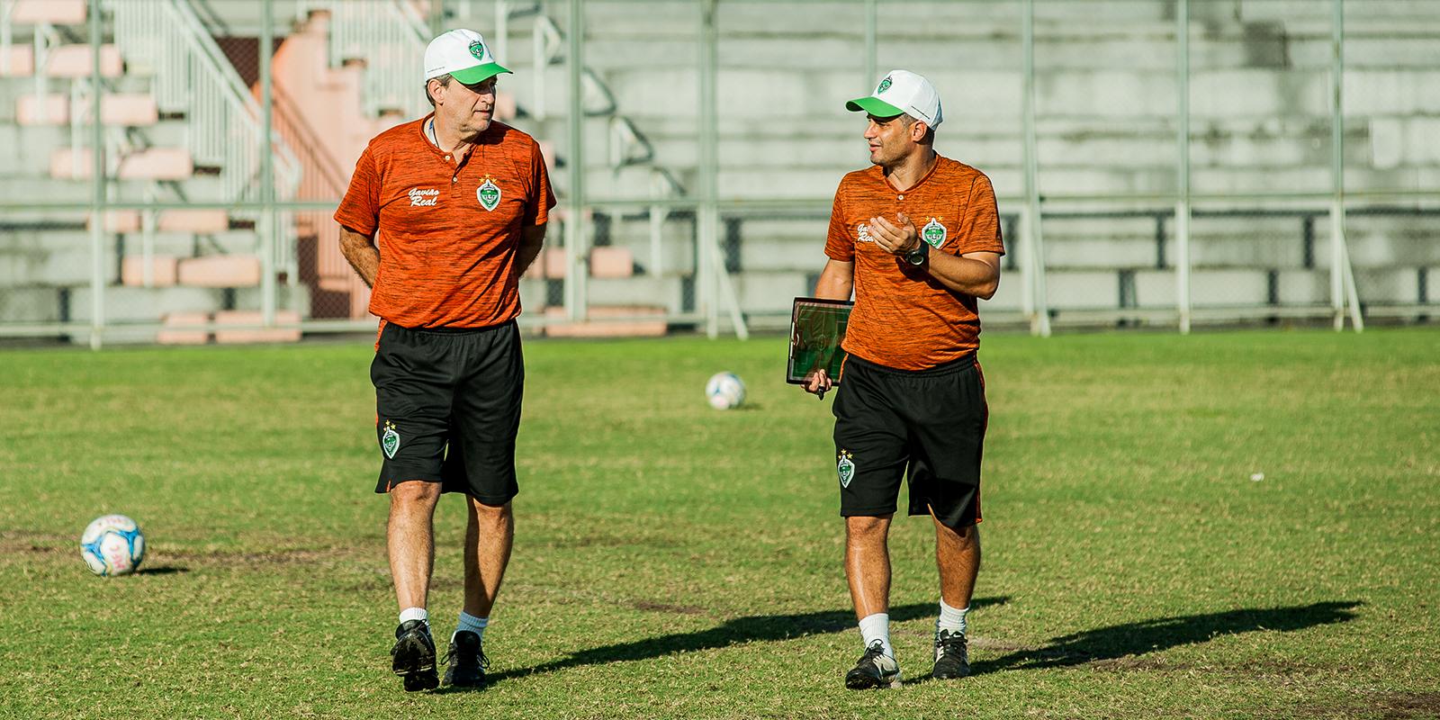 Auxiliar técnico André Lima renova com o Manaus por mais uma temporada