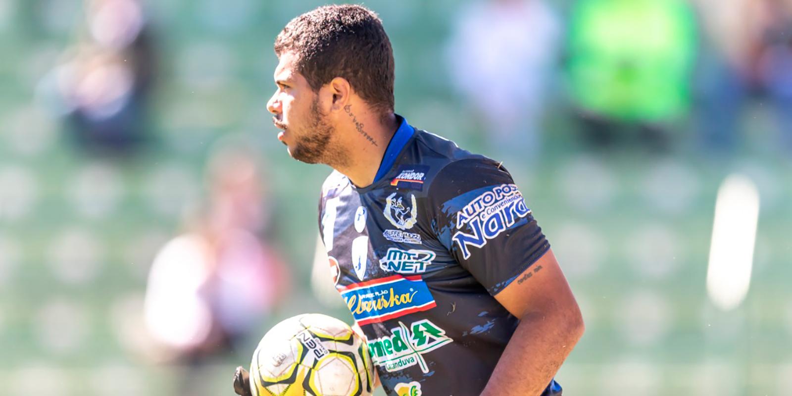 Manaus contrata goleiro João Paulo, ex-Catanduvense