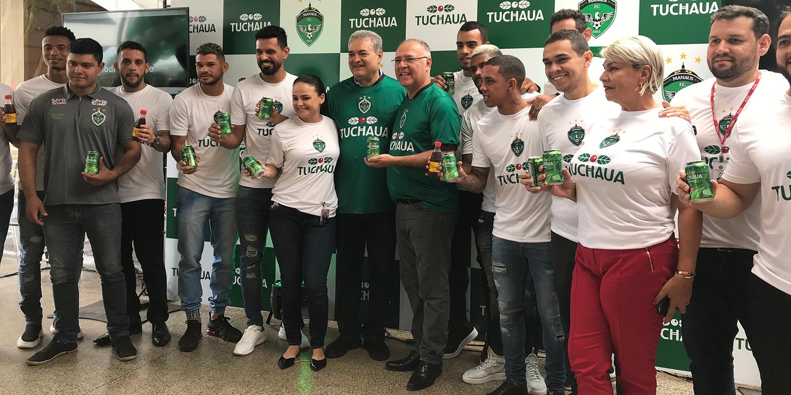 Tuchaua é o novo patrocinador do Manaus para 2020
