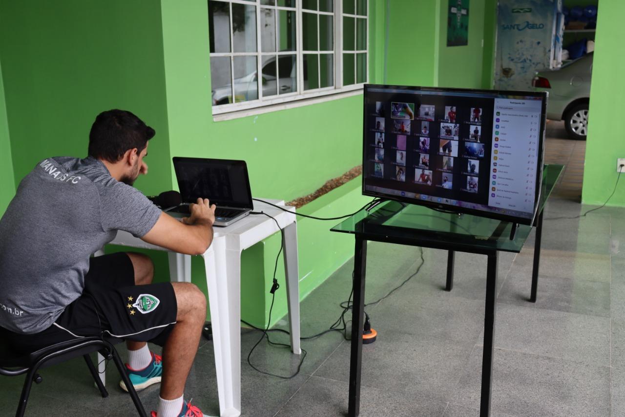 Manaus FC aposta na tecnologia para manter a preparação física em dia