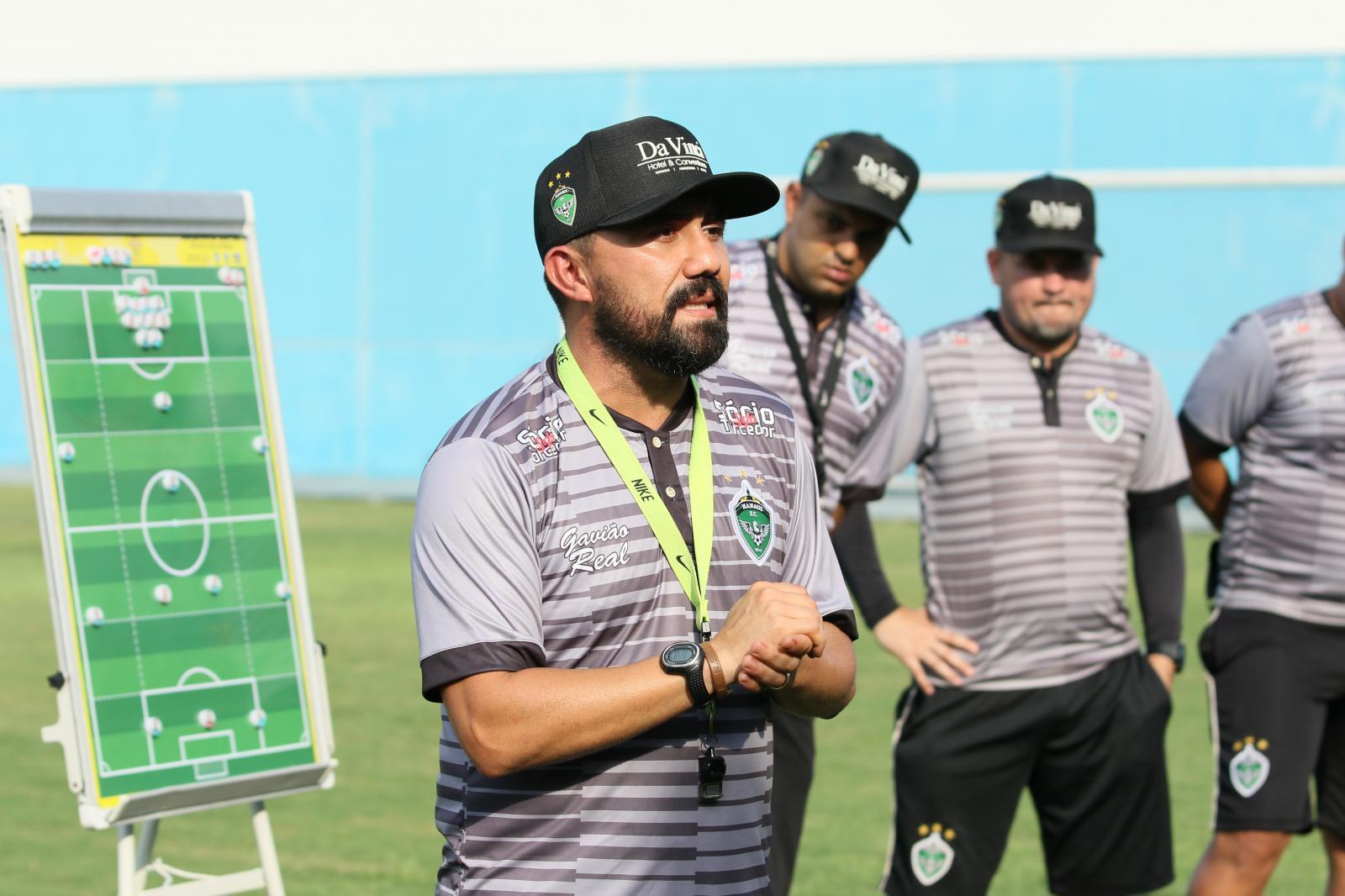 Novo técnico do Manaus  Futebol Clube chega empolgado para a disputa do Brasileirão