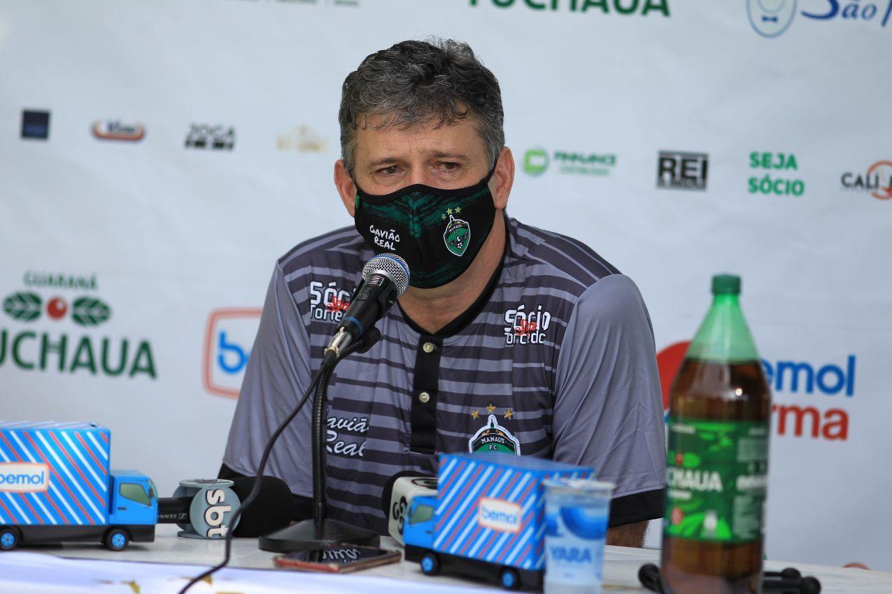 Welington Fajardo não é mais técnico do Manaus Futebol Clube