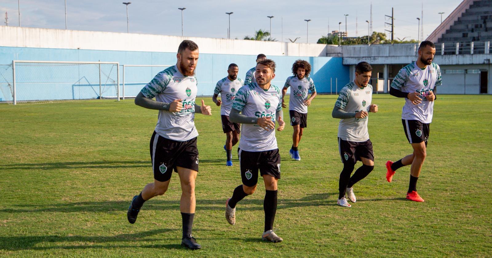 Manaus FC inicia preparação com foco no Floresta (CE)